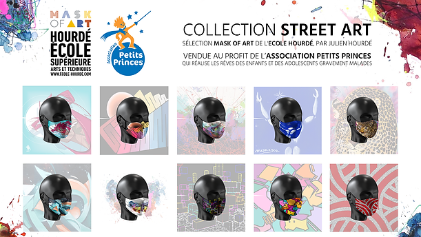 Visuel Mask Of Art Association Petits Pr