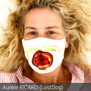 aurele ricard lostdog 2 mask of art le r