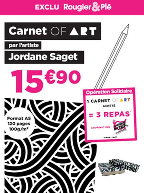 Carnet Of Art Jordane Saget Rougier & Pl