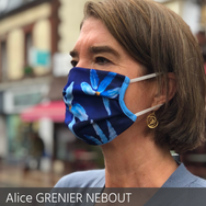 ALice Grenier nebout mask of art restos