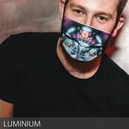 luminium mask of art marion la main tend