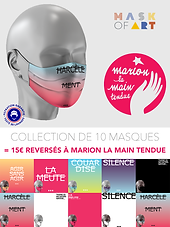 encart Marione La Main Tendue Mask Of Ar