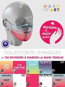 encart Marione La Main Tendue Mask Of Ar
