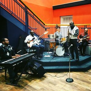 Matt Steele as a guest performing with the VSU Dr. Billy Taylor Jazz Program Ensemble!