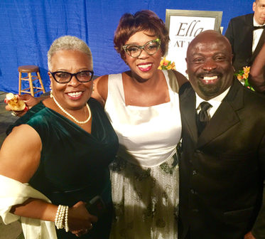 B.J Brown, Desiree and Saxsmo hangin out