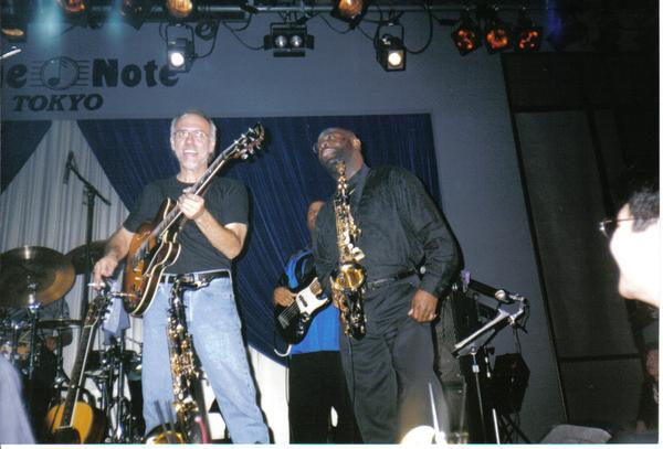 The Great Larry Carlton and Saxsmo