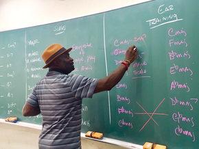 Mr. Gates Teaching a Jazz Improvisation class in Japan!