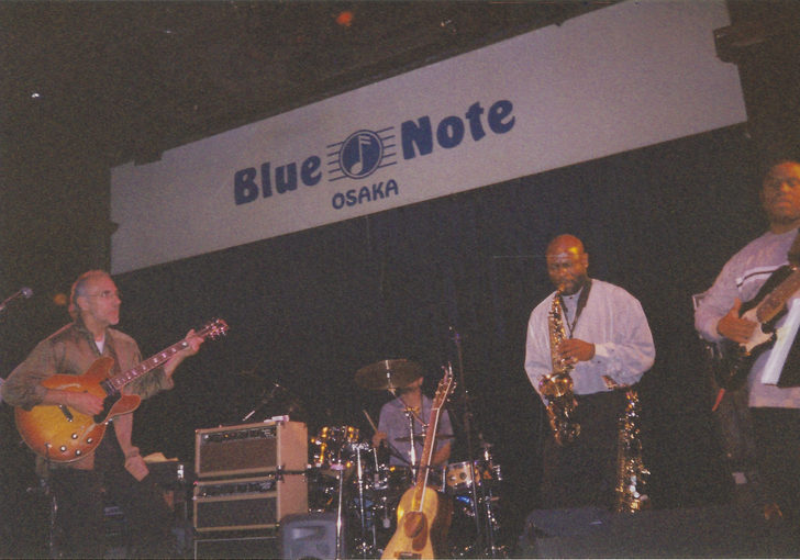 Michael Manson, Larry Carlton, Saxsmo in Japan