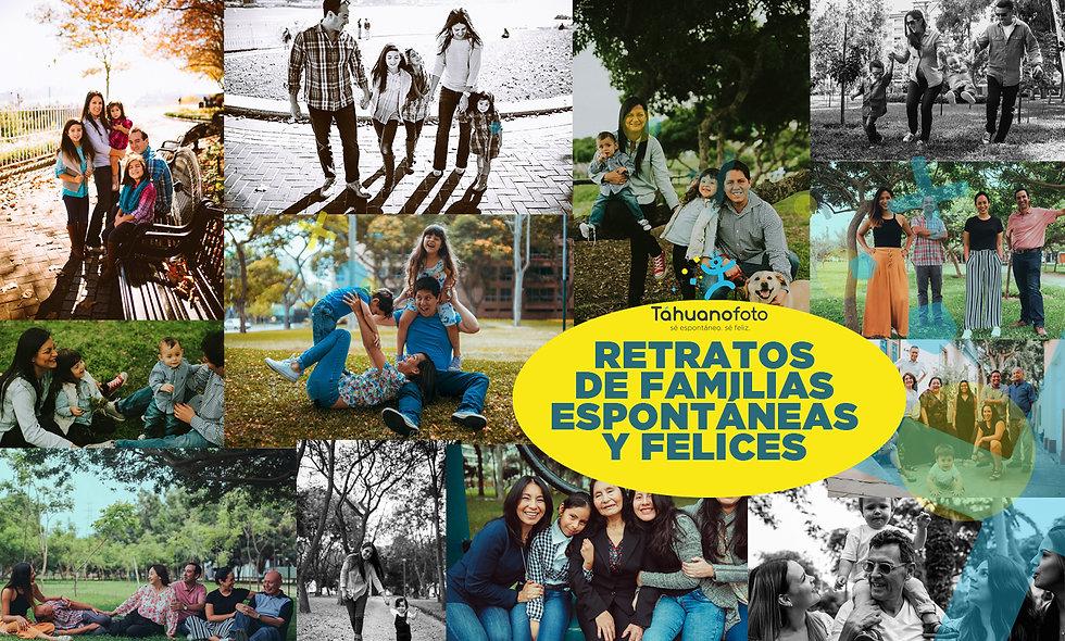 Retratos Familias Fin de Año Tahuano