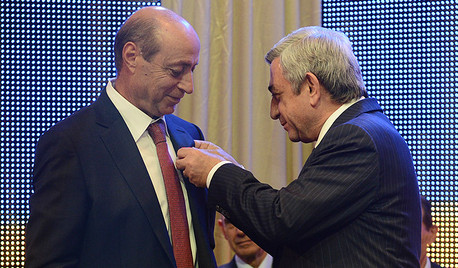 40 лет. Торжественный вечер, вручение наград Президентом Армении, Мартиросян