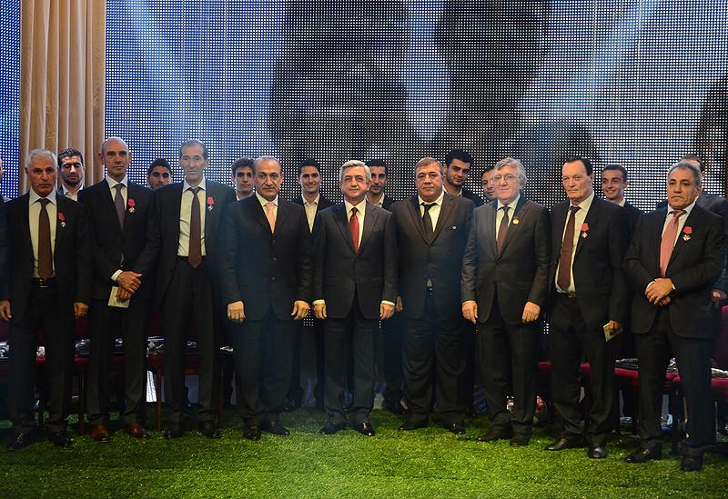 40 лет. Торжественный вечер, вручение наград Президентом Армении