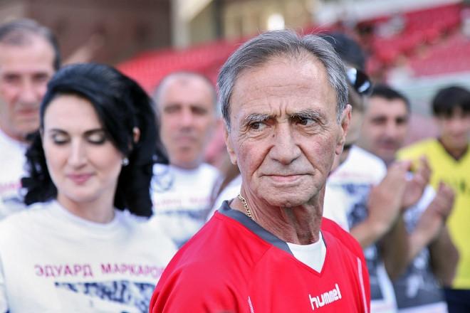 Матч ветеранов футбола СССР и Армении к 70-летию Эдуарда Маркарова