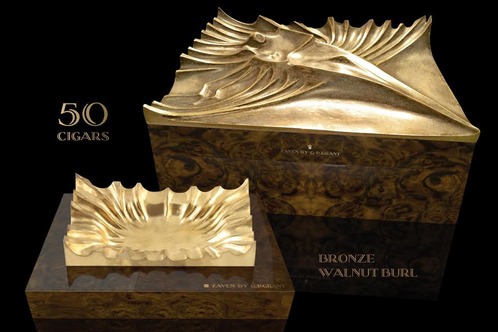 Handmade Bronze Humidoe