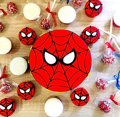 Spider-man themed party
