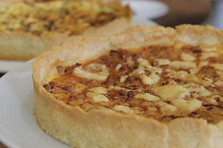 Jackfruit vegan tart