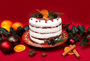 Walnut Christmas Cake