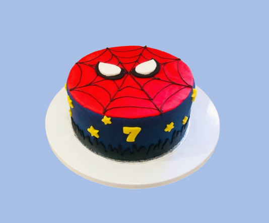 Spider-man cake.