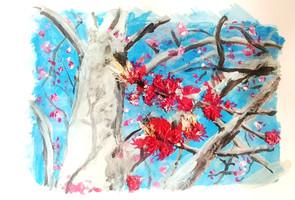 Spring Blossom Sketch