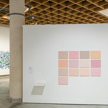 View of Exihibited Piece in the exhibition  Entreformas, Curated by Abdiel Segarra in the Museo de Arte de Puerto Rico, 2021.