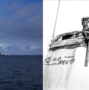 Boat Expedition, Gerdøya - 2 x 420mm x 594.36mm Color Photograph and Carbon Based Ink on Photo Paper - 2014