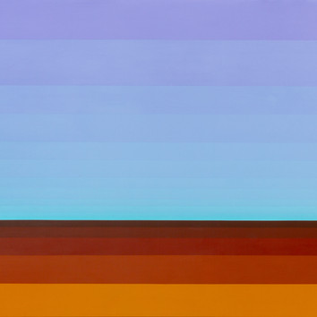 Landscape of All Australia's Prisions - Acrylic on Panel - 900mm x 1200mm