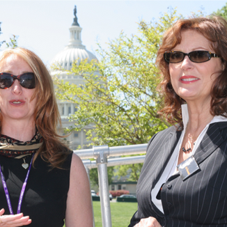 Advocating for enhancement of stem cell research act (I'm the one on the left)