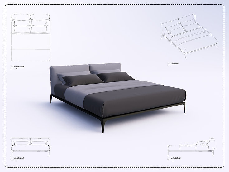Bed Revit 24 High Quality