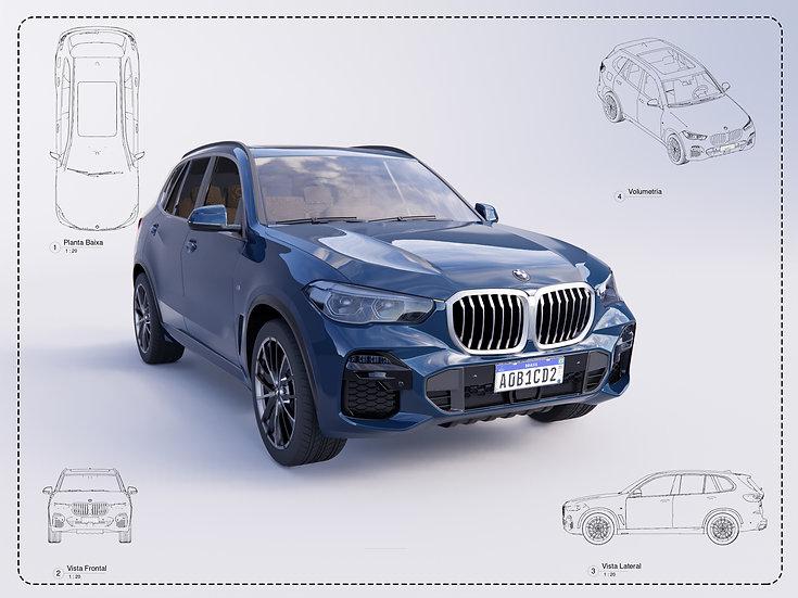 BMW X5 Revit High Quality