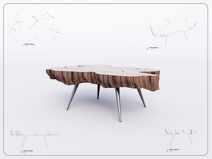 Center Table 04 High Quality