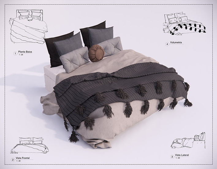 Bed Revit 34 High Quality