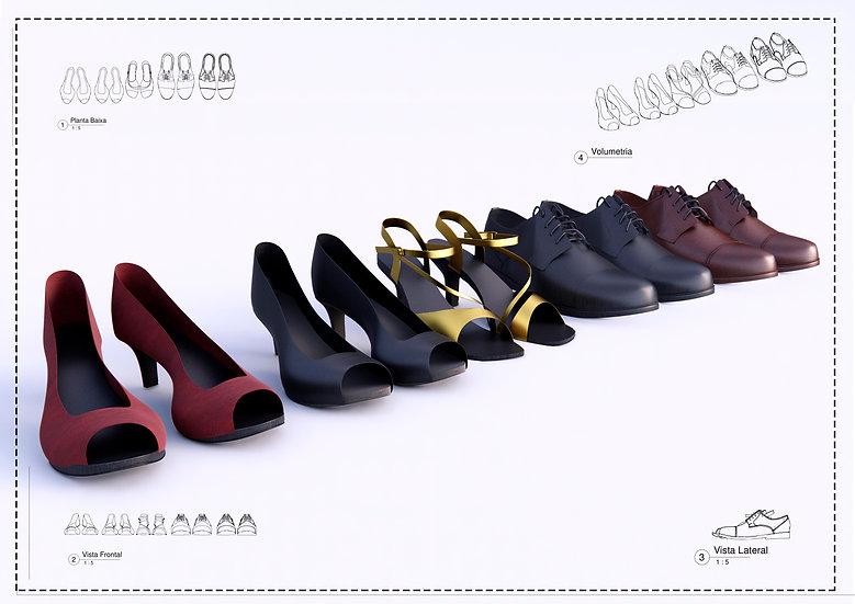 SET Shoes Revit High Quality
