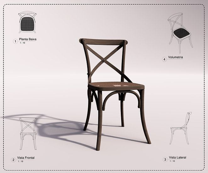 Chair Revit 14 High Quality