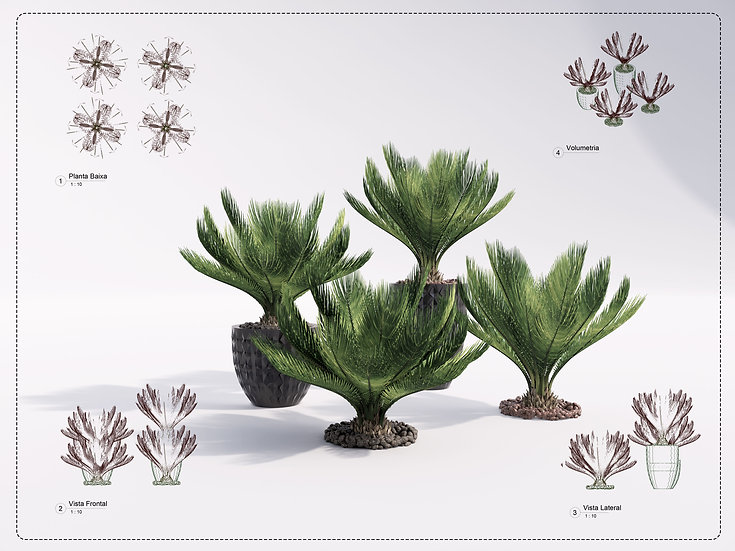 Plant Revit 2 High Quality