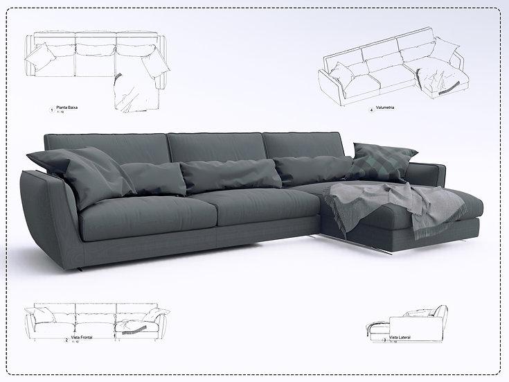 Sofa Revit 35 High Quality