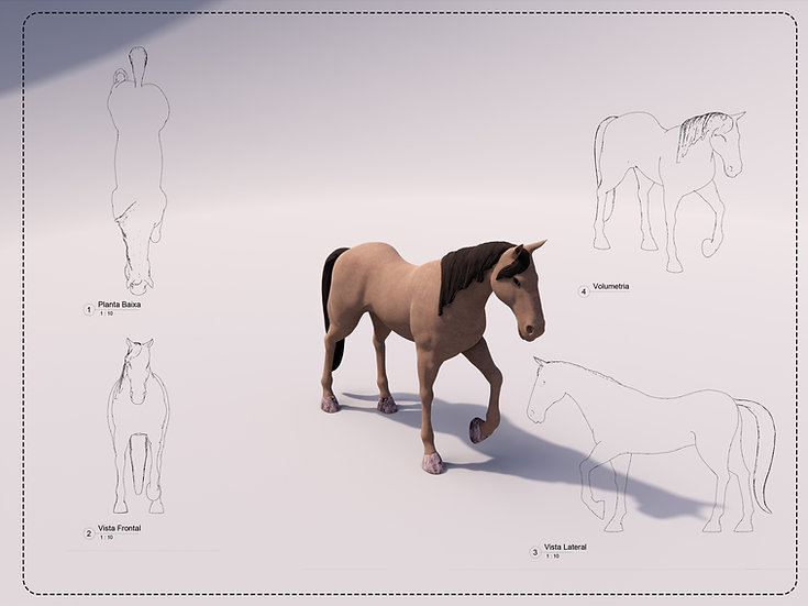 Horse Revit High Quality