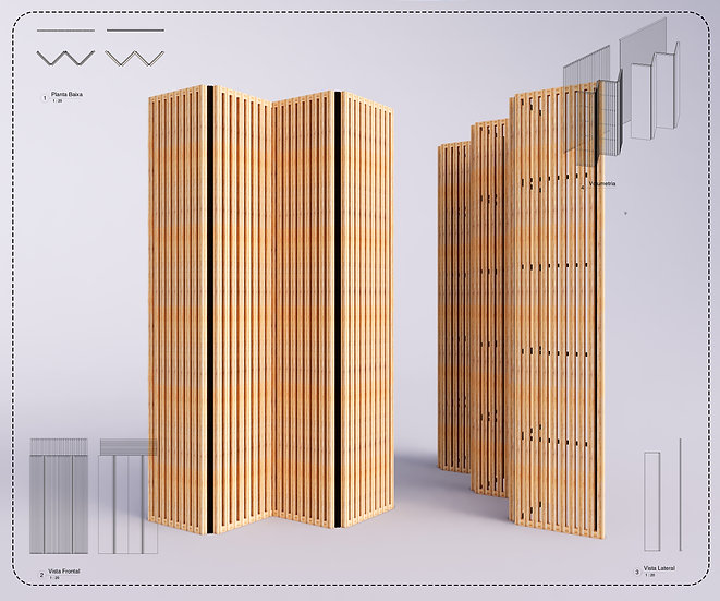 Parametrics C Brise e Painel Cortina High Quality