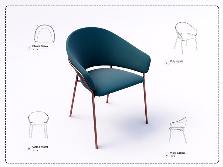 Armchair Revit 34 High Quality