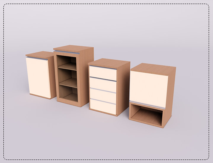 Parametric C Kitchen Cabinets  3 High Quality