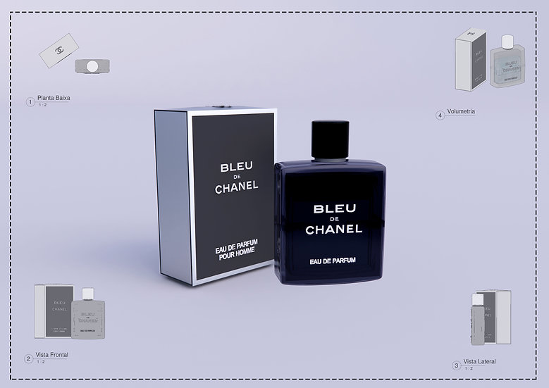 Perfum Bleu Chanel Revit High Quality