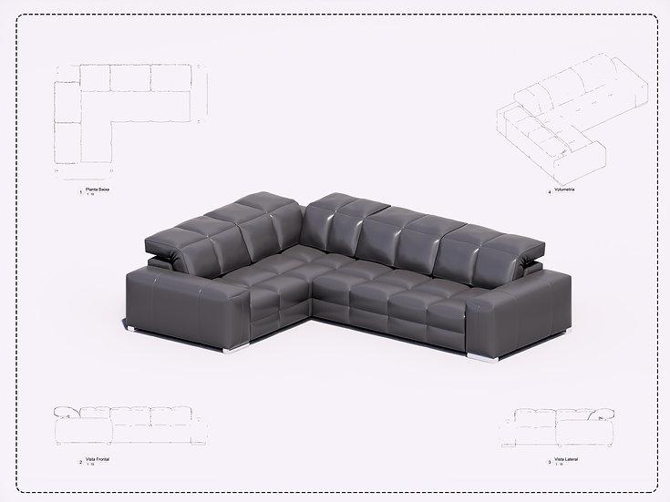 Sofa Revit 21 High Quality