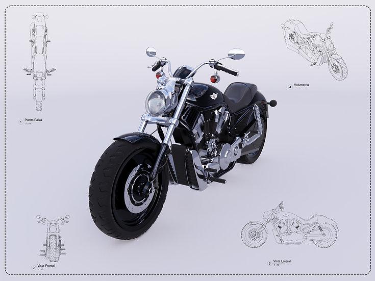 Harley Davidson V-Rod Revit High Quality