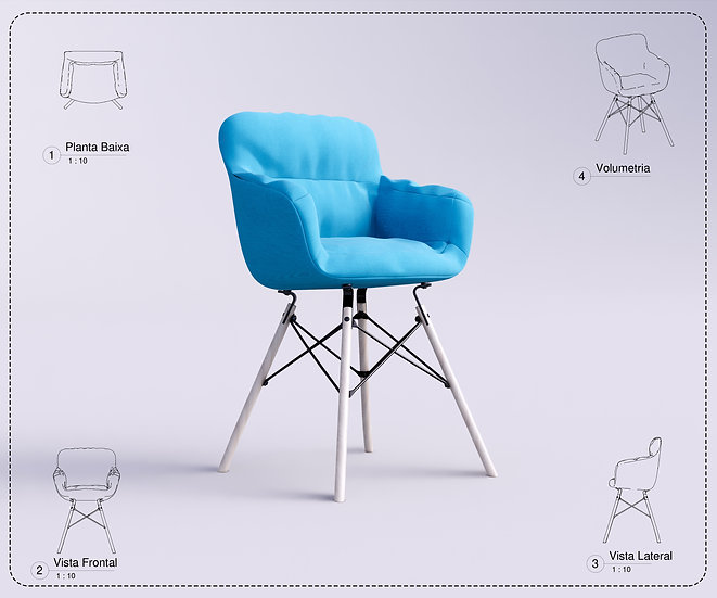 Chair Revit 15 High Quality