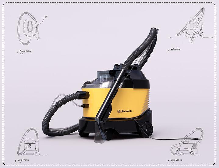 Vacuum Cleaner Revit High Quality