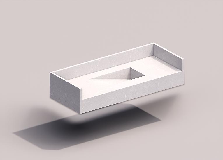 Parametric C Bathroom Tub 04 High Quality