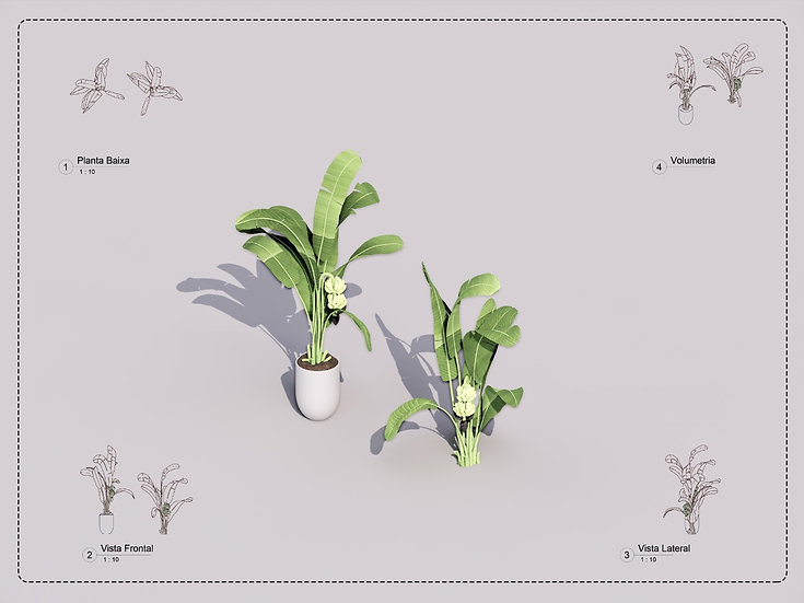 Plant Revit 7 High Quality