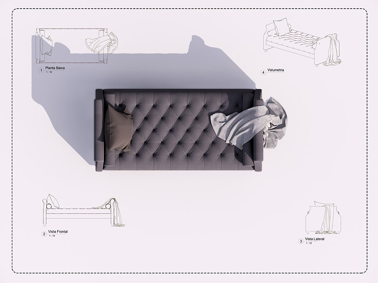 Sofa Revit 26 High Quality