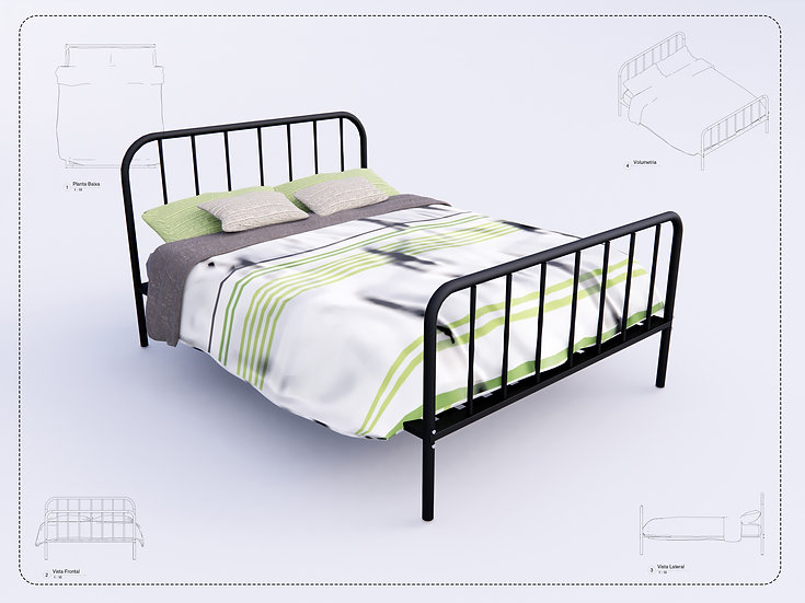Bed Revit 32 High Quality