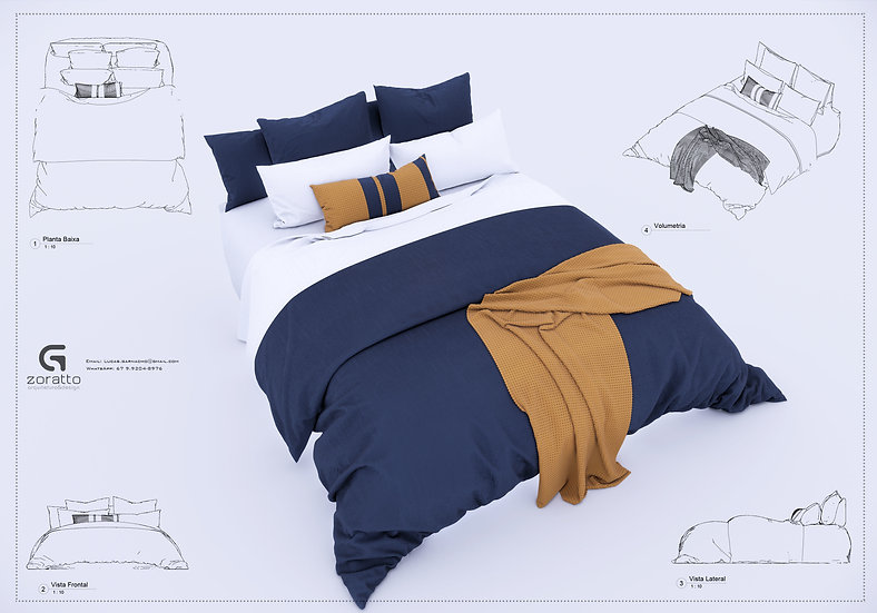Bed Revit 6 High Quality