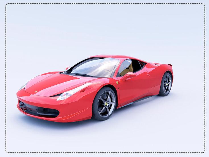 Ferrari Revit High Quality