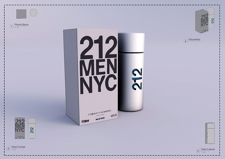 Perfum 212 Men Revit High Quality